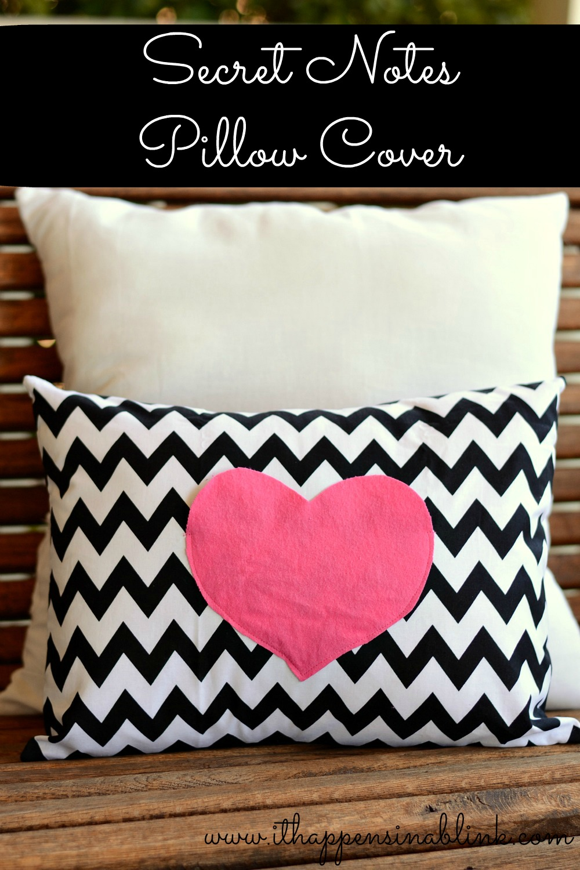 Love notes pillow case
