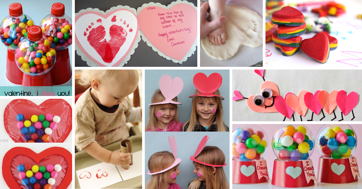 Make valentine 39 s day more colorful with these craft ideas for Kids valentines day craft
