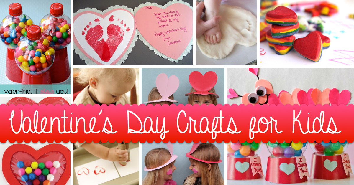 Lovely Valentines Day Craft Ideas For Kids Part - 5: Make Valentineu0027s Day More Colorful With These Craft Ideas For Kids