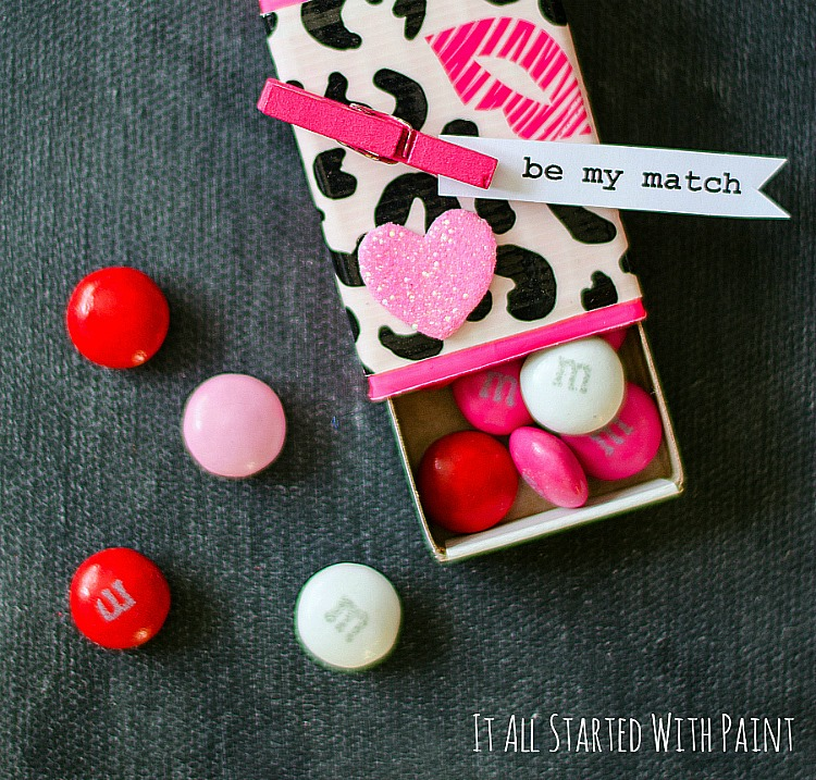 Make valentine 39 s day more colorful with these craft ideas for Blank matchboxes for crafts