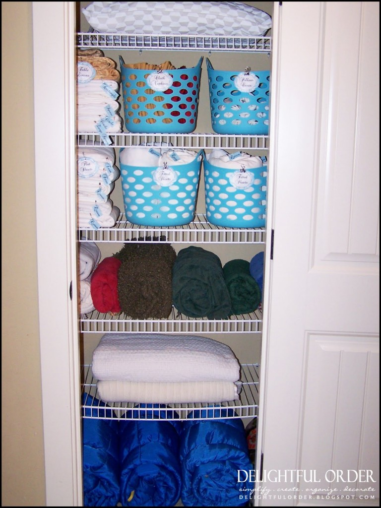 Organize Your Linen Closet Part - 42: Organize Your Bathroom Linen Closet