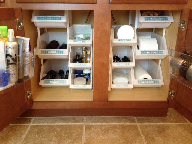 organize bathroom sink cabinet 30 diy storage ideas to organize your bathroom diy 19808