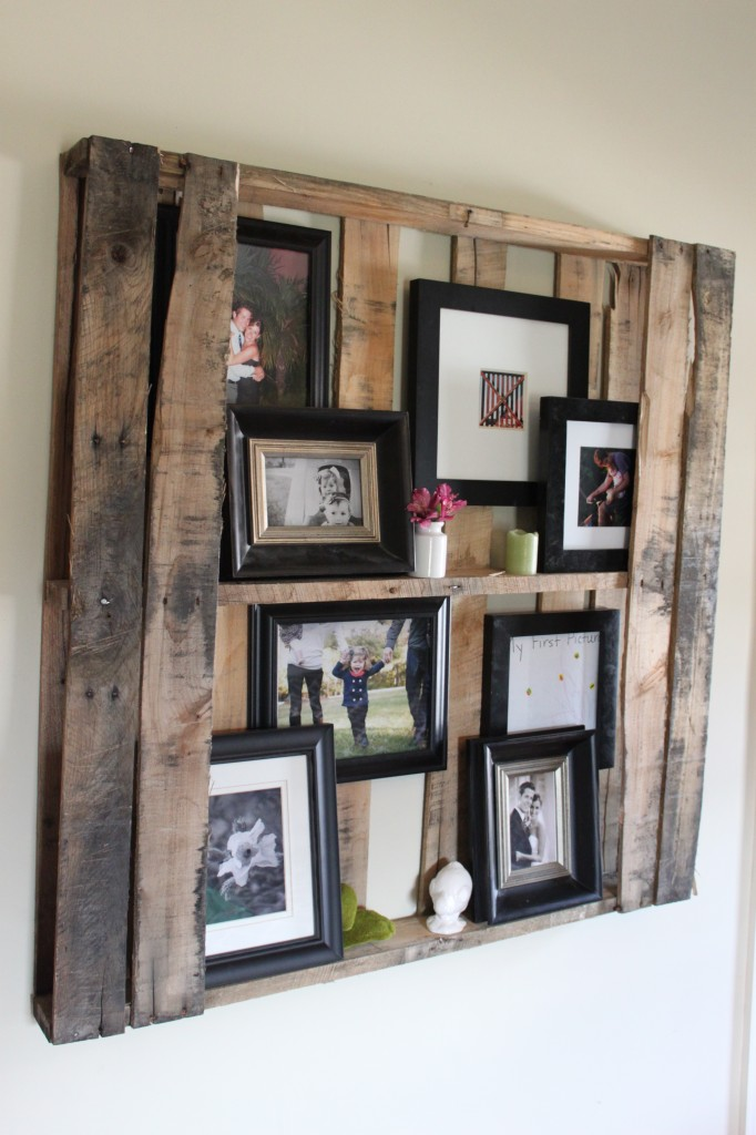 60 DIY Projects That Will Redefine The Way You See Pallet  : Pallet Shelving 682x1024 from cutediyprojects.com size 682 x 1024 jpeg 123kB