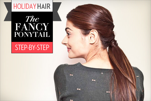 Party Ready Fancy Ponytail