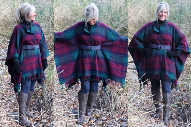 Stylish Wool Blanket Coat