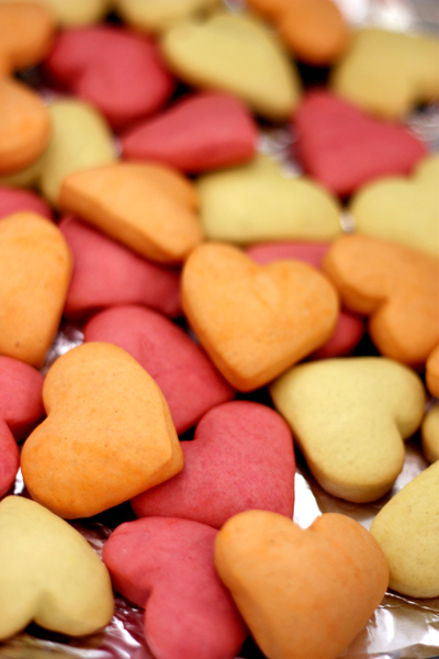 Sweetheart shortbread