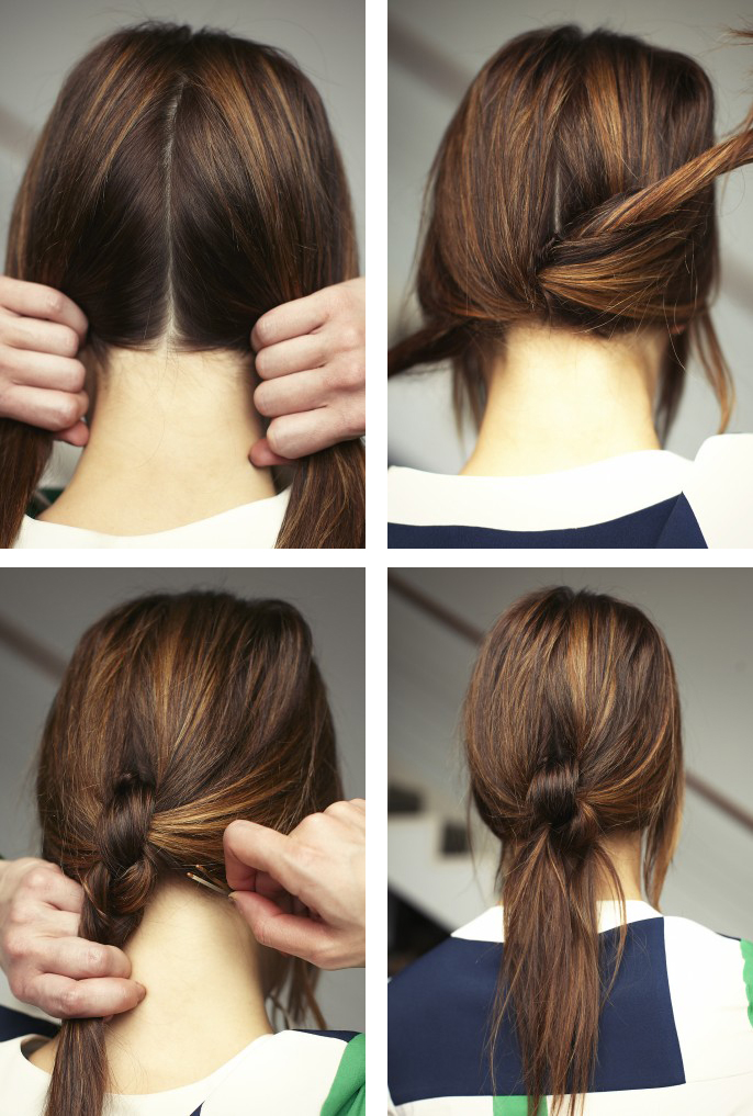 Easy Hairstyle For Long Hair and try hairstyle at home