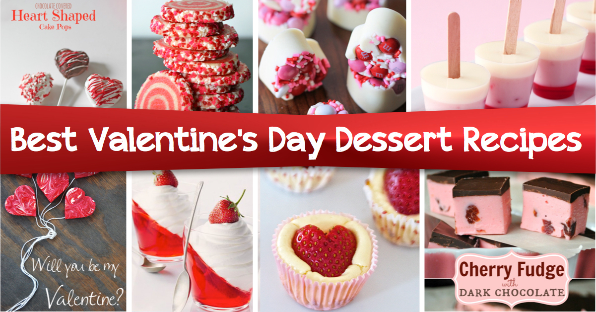 The Most Popular Valentineu0027s Day Dessert Recipes That Are Easy To Make