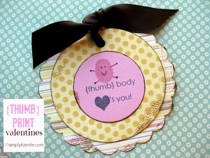 Thumbprint Valentines