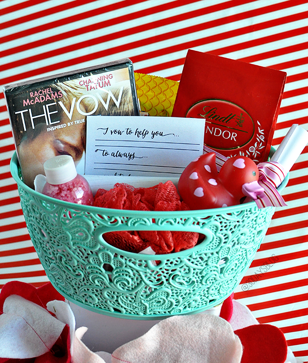 valentines baskets - Valentines Day Gift Basket Ideas