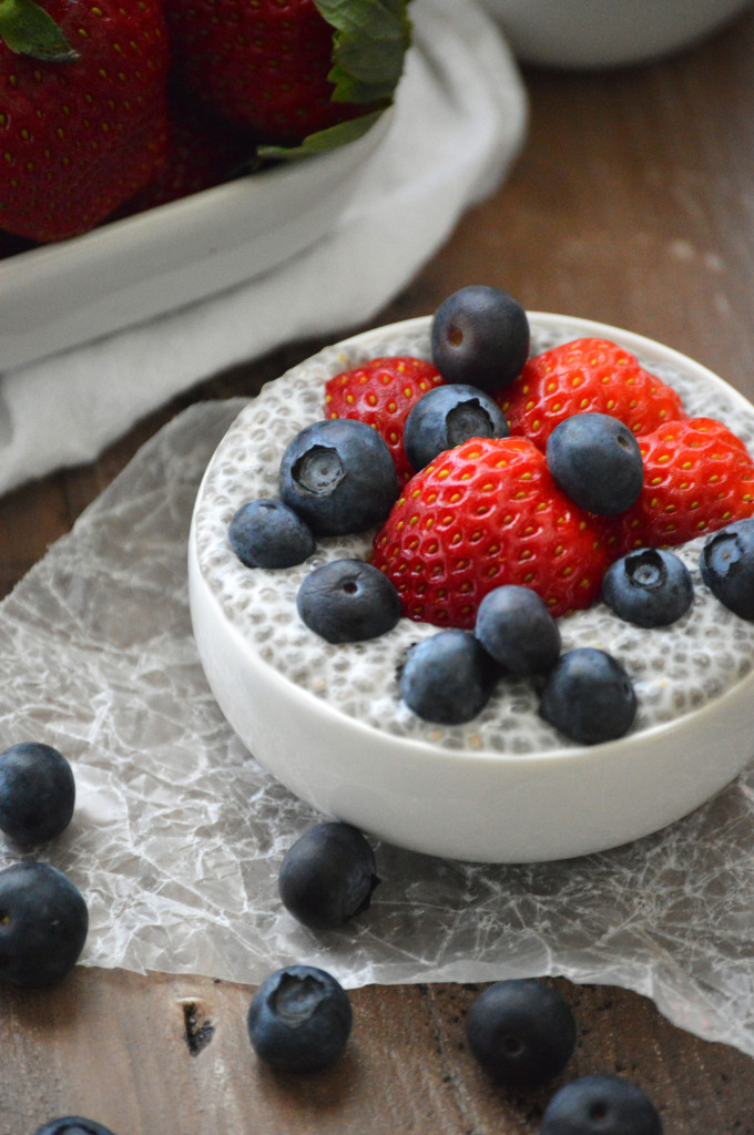 how to eat chia seed pudding right away