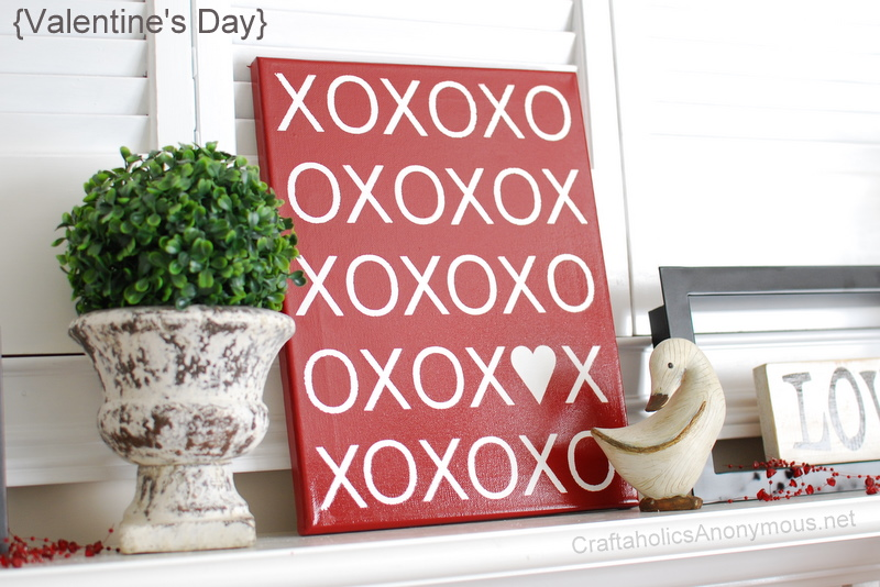 Xoxo Canvas Décor