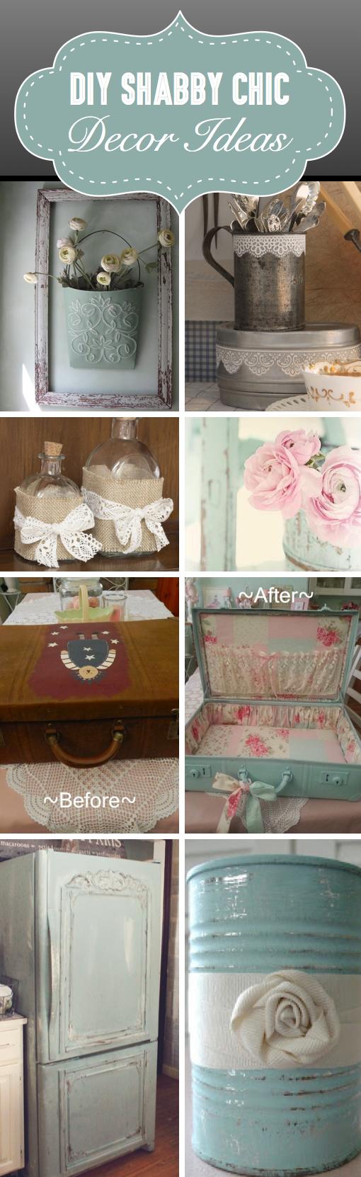 Diy Shabby Chic Decor 25+ diy shabby chic decor ideas for women who love the retro