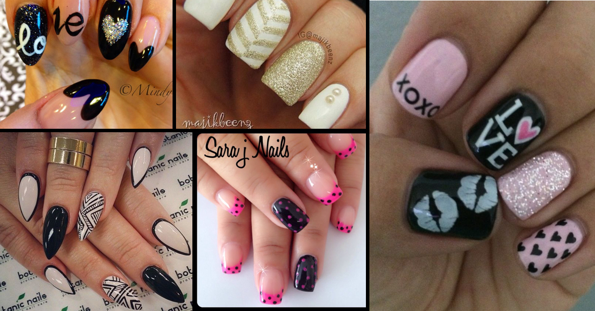 30 awesome acrylic nail designs youll want in 2016 prinsesfo Choice Image