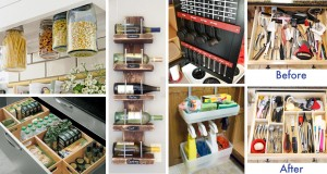 45+ Small Kitchen Organization And DIY Storage Ideas