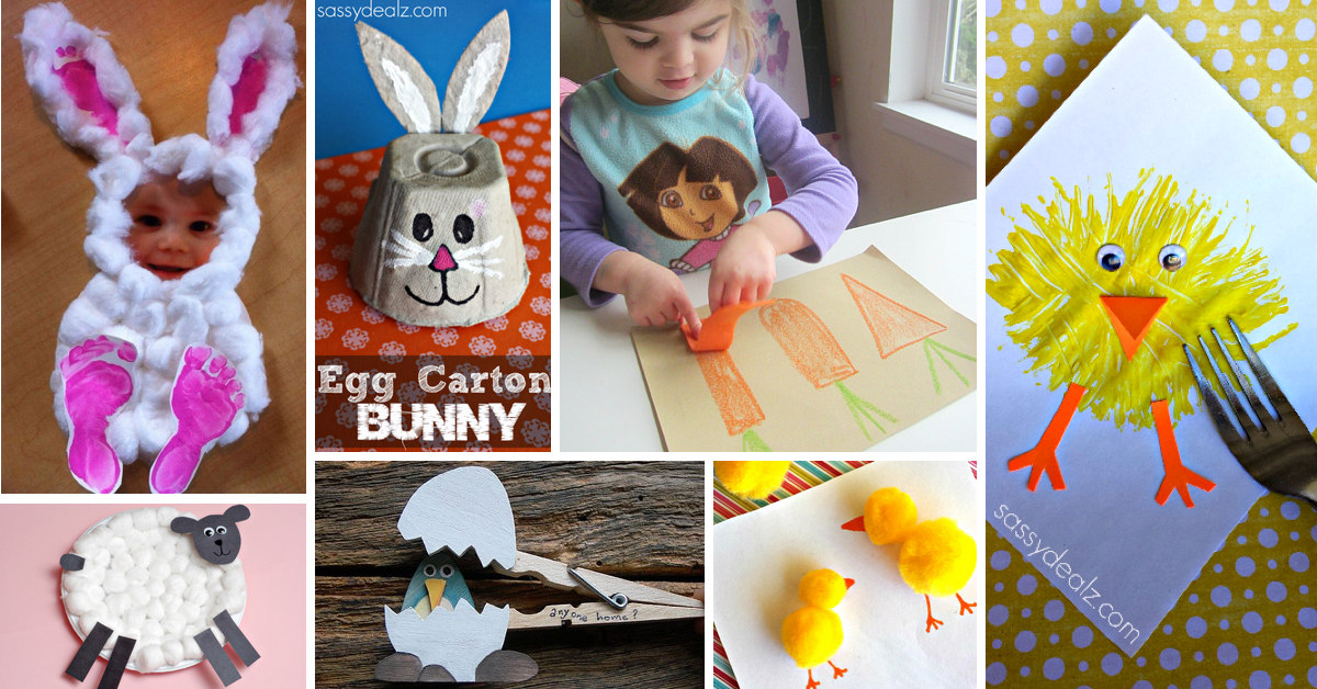 50 Cute And Creative Easter Crafts For Kids Cute Diy Projects