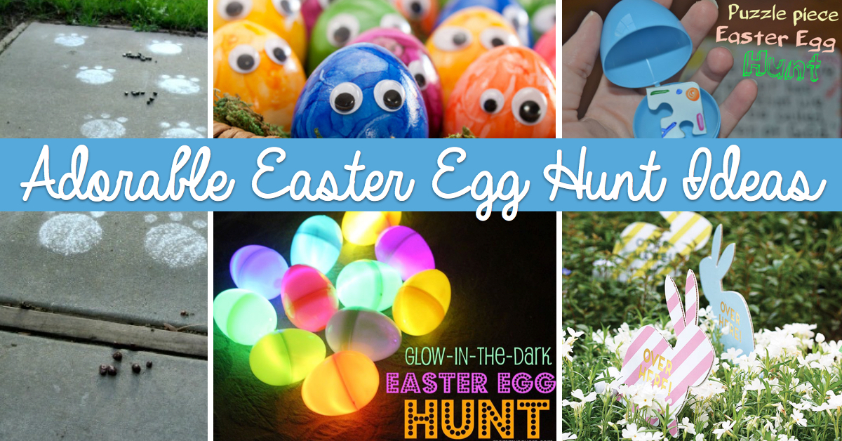 Adorable Easter Egg Hunt Ideas That Your Children Will Definitely Love