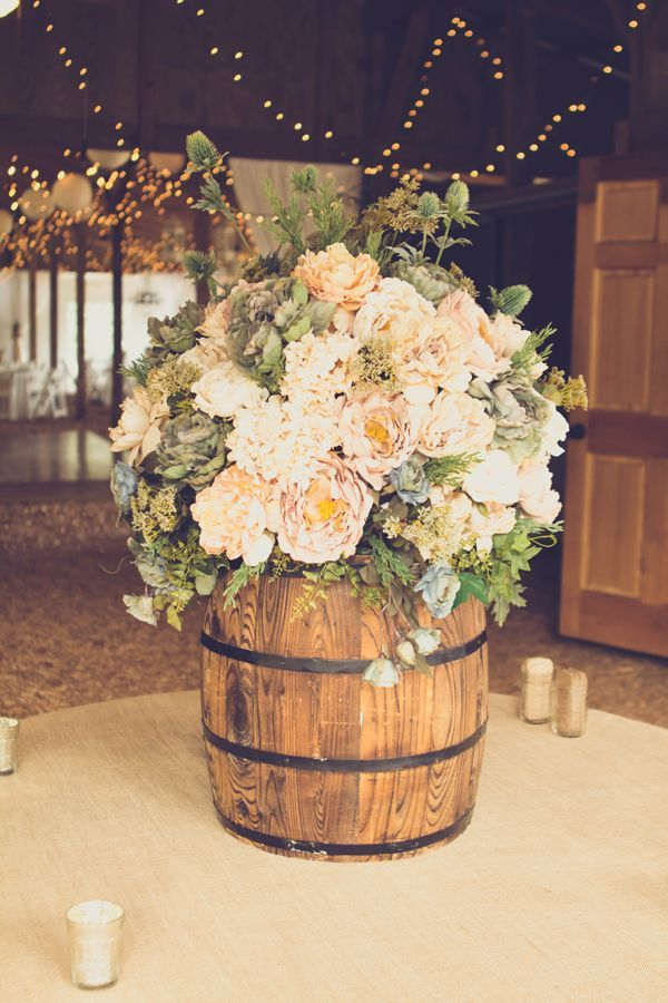 Adorable Rustic Wedding Idea