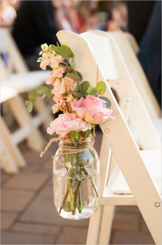 Shine on your wedding day with these breath taking rustic for Aisle decoration for wedding