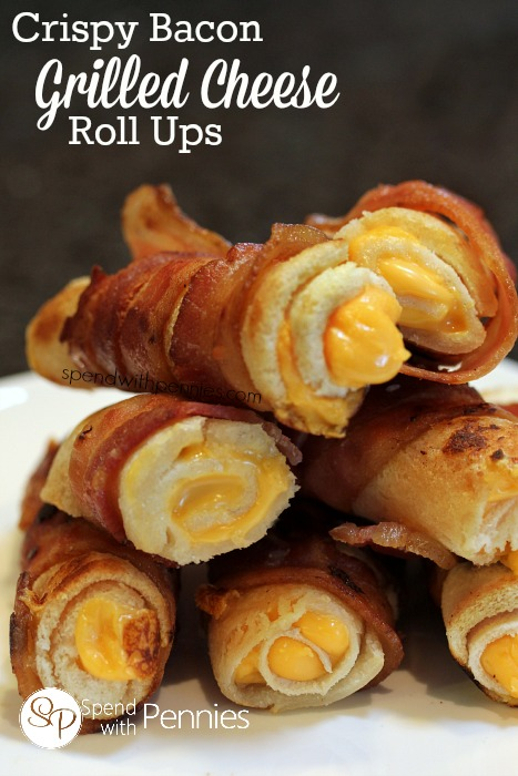 Bacon And Cheese Roll Ups