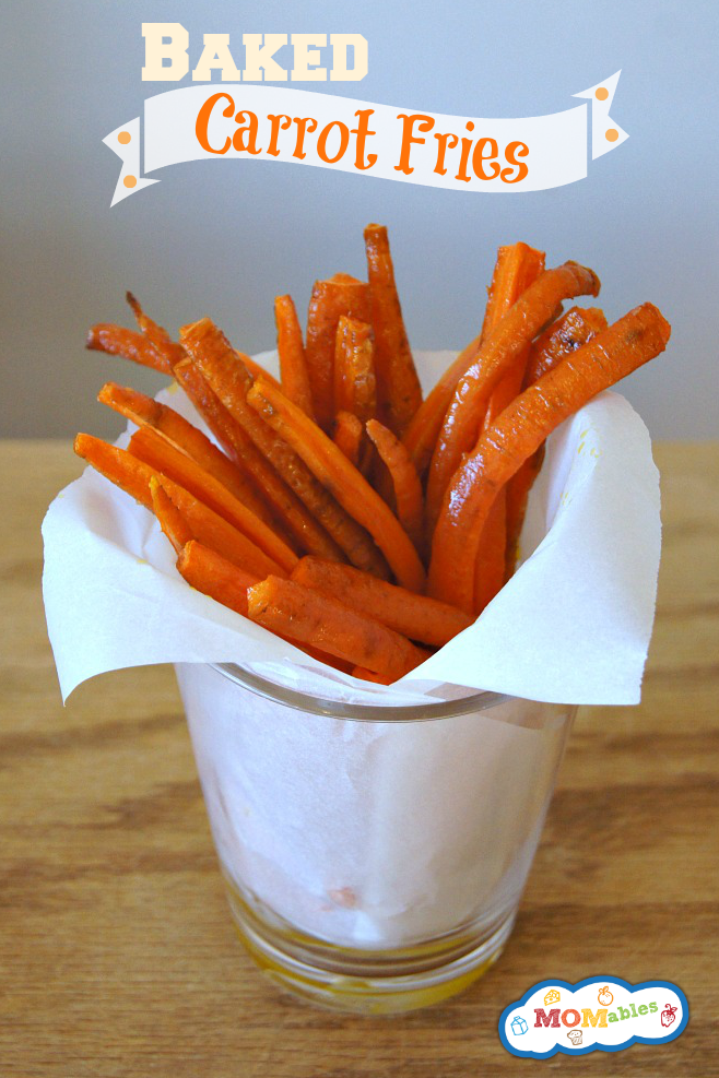 Baked Carrot French Fries