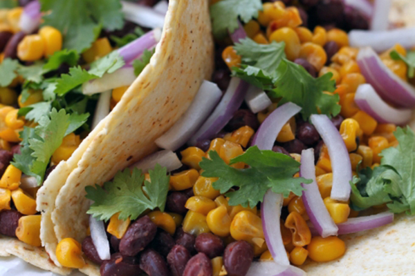 ... black bean and guac tacos vegan black bean and roasted corn tacos