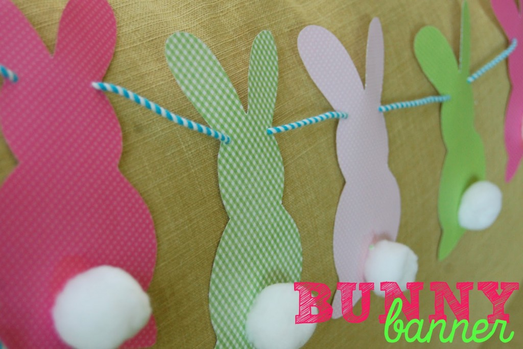 Bunnies On Construction Paper