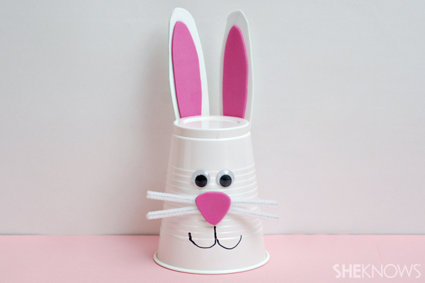 Bunny-Themed Easter Craft For Kids