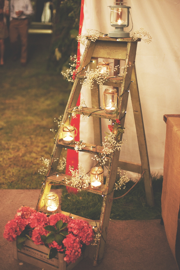 Shine on your wedding day with these breath taking rustic wedding diy rustic wedding decoration solutioingenieria