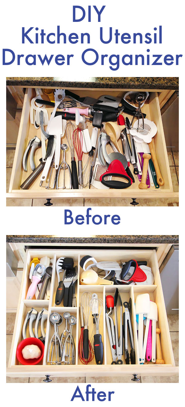 kitchen utensil organizer drawer 20 diy ideas for small kitchen organization the in 6370