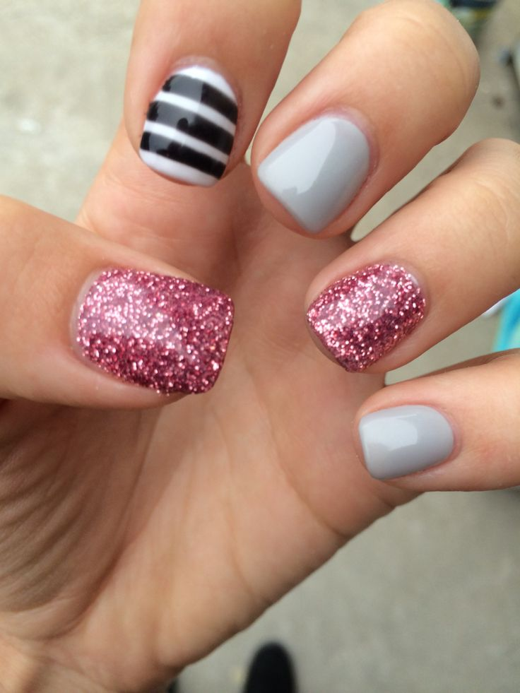 cute acrylic nail designs - photo #28