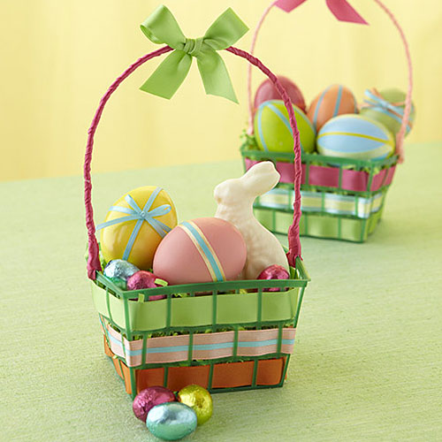 60 diy easter basket ideas for 2017 easter basket crafts negle Images