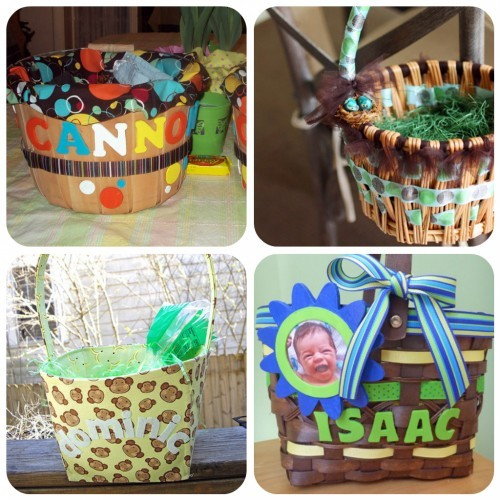 60 diy easter basket ideas for 2017 easter basket templates negle Image collections