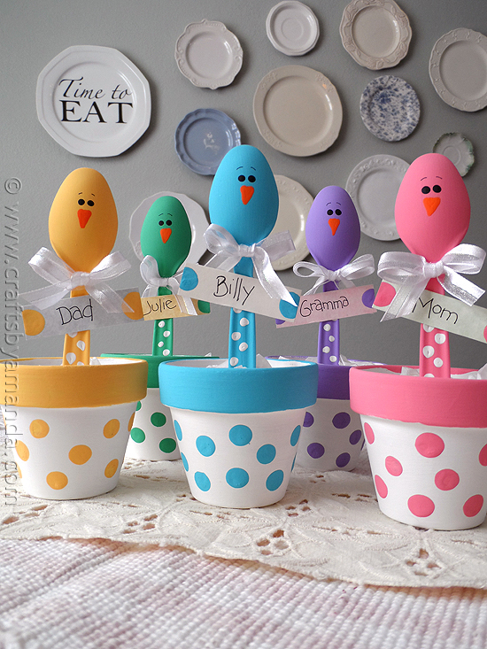 DIY Easter Chick Craft