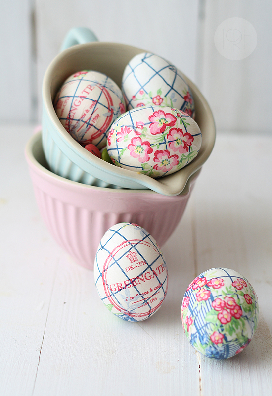 Easter Egg Napkins