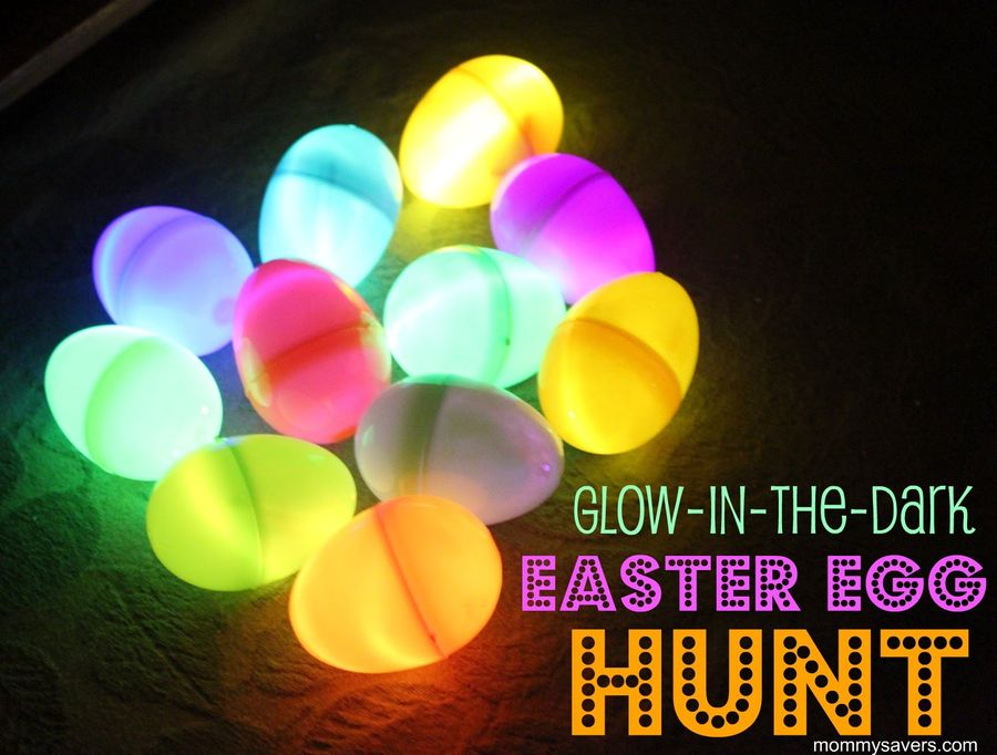 Easter Eggs That Glow In The Dark
