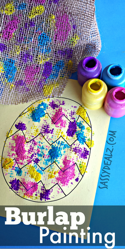 Egg Painting Activity For Kids