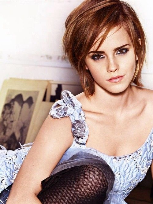 Emma Watson-Inspired Short Bob Hairstyle