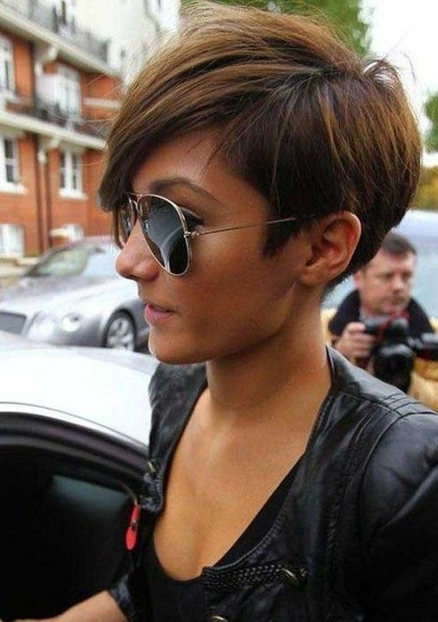 Frankie Sandford-Inspired Short Haircut For Women