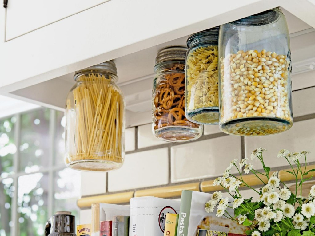 1 get rid of all the household clutter creatively - Storage Ideas For A Small Kitchen