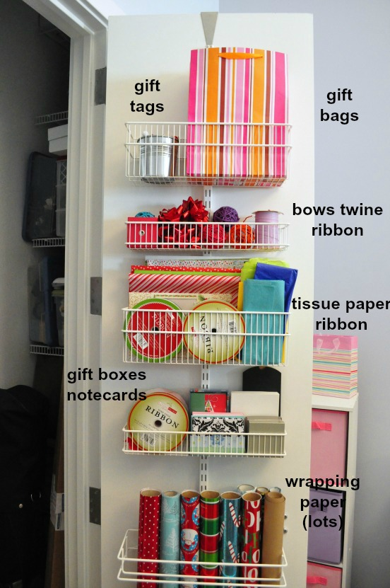 Diy Kitchen Storage Ideas Part - 23: 22. Gift Wrap Station