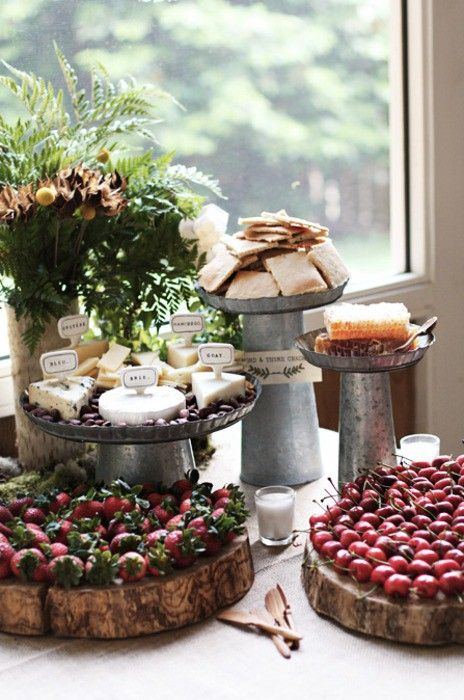 Gorgeous Rustic Buffet