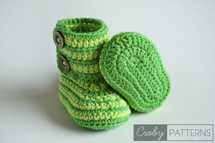 40 Crochet Baby Booties Ideas For Your Little Prince Or Princess New Crochet Baby Booties Pattern Step By Step