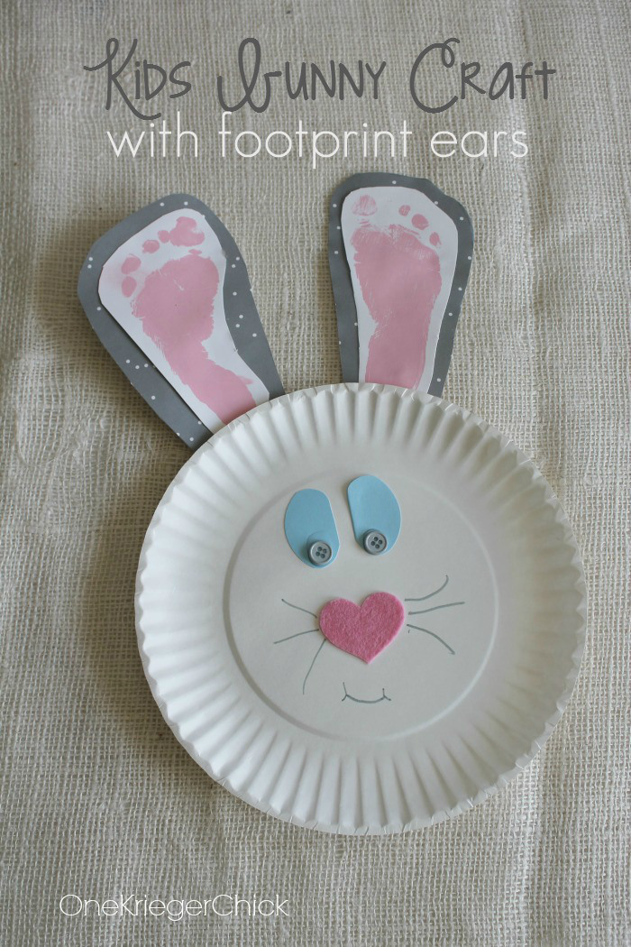 50 cute and creative easter crafts for kids in 2017 15 handprint art negle Gallery