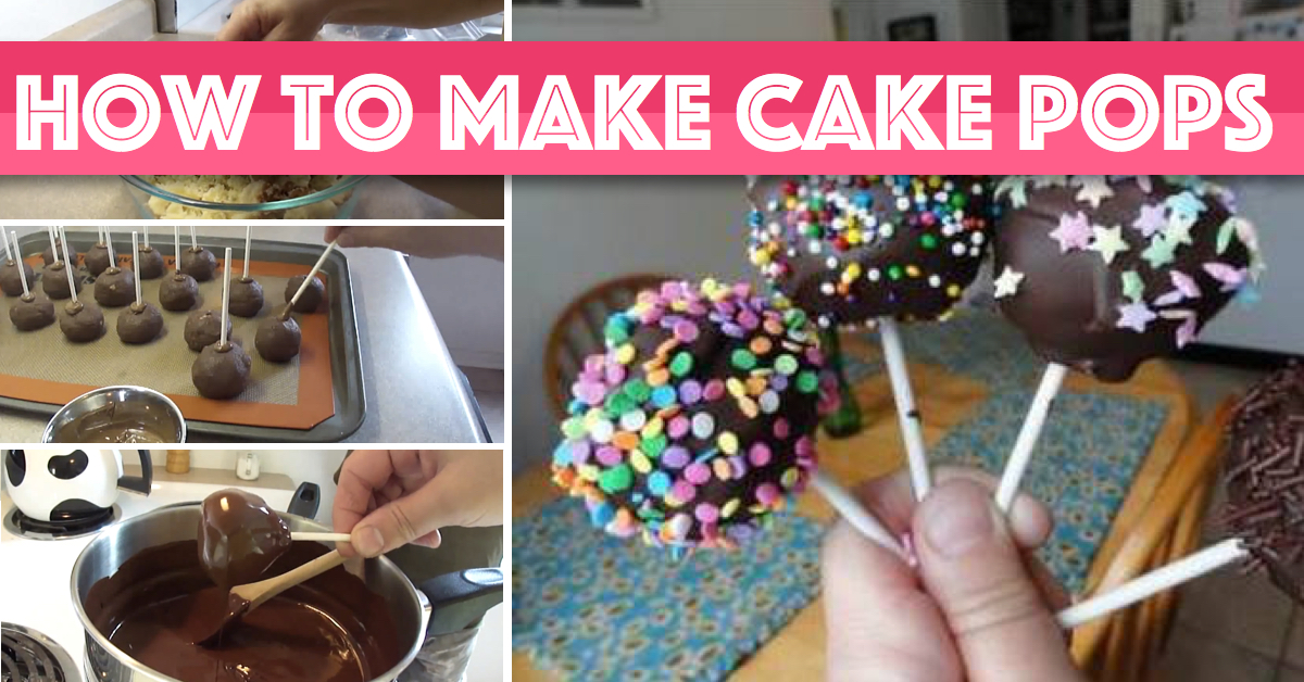 How To Make Cake Pops Quickly And Effortlessly