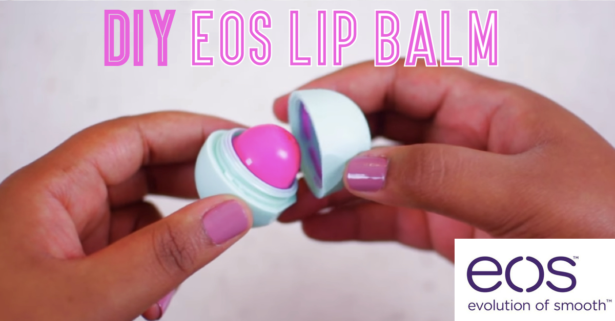 Tinted Eos Lip Balm – Cute DIY Projects