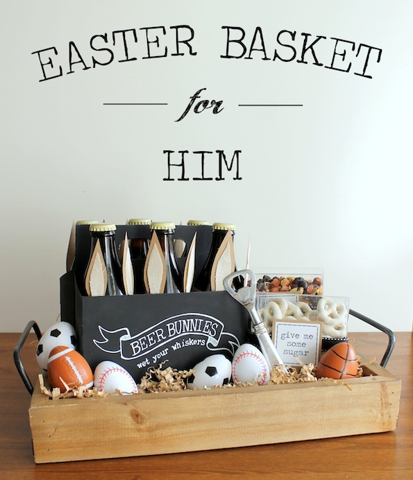 Husband Easter Egg Basket