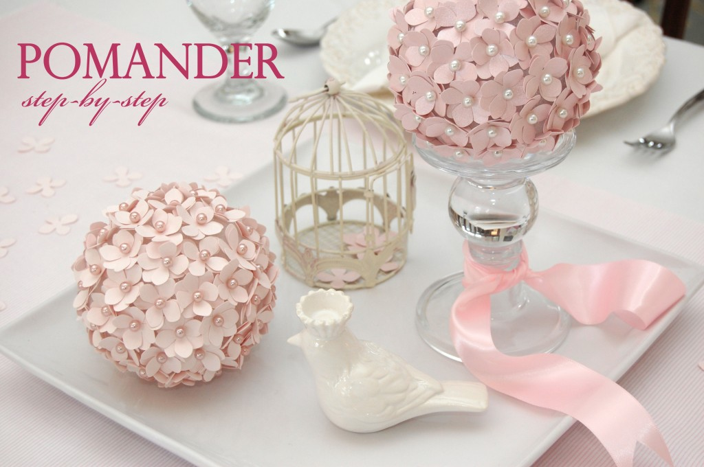 Learn How To Make Your Own Pomander Flower Ball