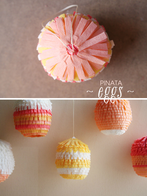 Lovely Pinata Eggs For Your Easter