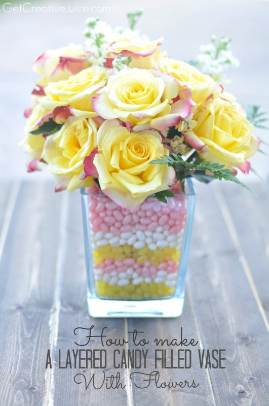 Make A Layered Cake-Filled Vase